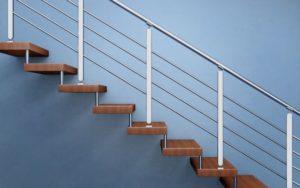 מדרגות חיצוניות לגג